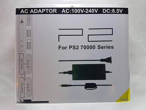 Блок питания для SONY PLAYSTATION.Адаптер питания,зарядное устройство кабель шнур для Sony PS2 70000, фото 2