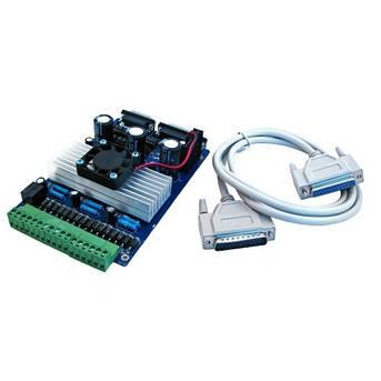 3-осевой контроллер шаговых двигателей ЧПУ TB6560, фото 2