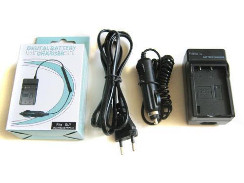 Сетевое + авто зарядное для Minolta NP-900, Olympus LI-80B