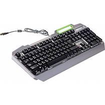 Клавиатура Defender Stainless steel GK-150DL (45150) Silver USB, фото 3