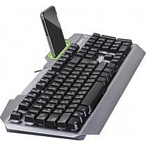 Клавиатура Defender Stainless steel GK-150DL (45150) Silver USB, фото 2