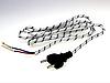 Шнур утюжный с вилкой б/з 1,5м GAV 778