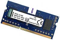 Оперативная память для ноутбука Kingston SODIMM DDR3L 2Gb 1600MHz 12800s 1R16 CL11 (KVR16LS11S6/2) Б/У, фото 1