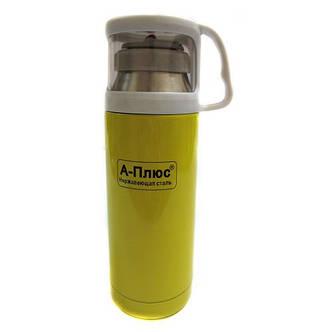 Вакуумный термос детский 350мл A-plus 1778 Yellow, фото 2