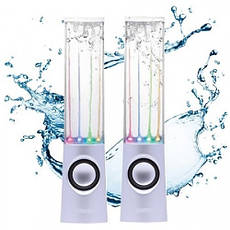 USB колонки танцующий фонтан Water Dancing White, фото 3