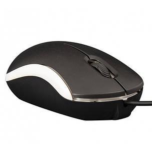 Мышь Frime FM-010 Black/White USB, фото 2