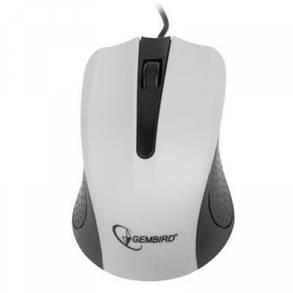 Мышь Gembird MUS-101-W белая USB, фото 2