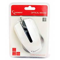 Мышь Gembird MUS-101-W белая USB, фото 3