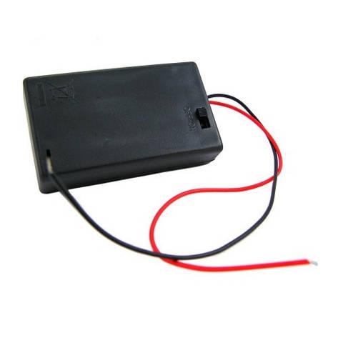Бокс на 3 ААА батареи, 4.5V кейс, питание Arduino, фото 2