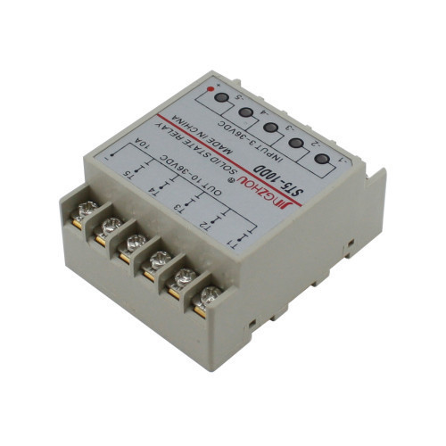 5-канальное твердотельное реле SSR ST5-10DD 10А DC-DC