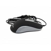 Мышь ProLogix PSM-200BG; Black/Grey 800/1400 DPI USB 1,5m, фото 3