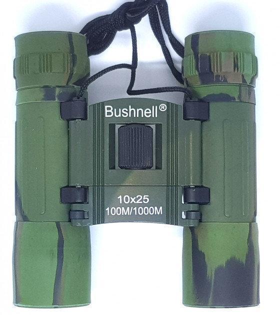 Биноколь Bushnell ARMY зеленый 10X25 Увеличение x10