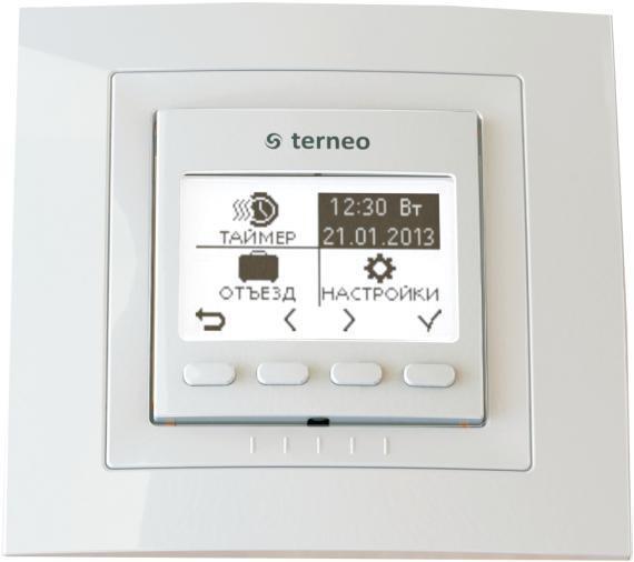 Терморегулятор для нагревательных панелей terneo pro*