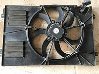 1k0121205ac Корпус вентилятор Skoda Octavia A5 Шкода Октавия А5 1.6tdi