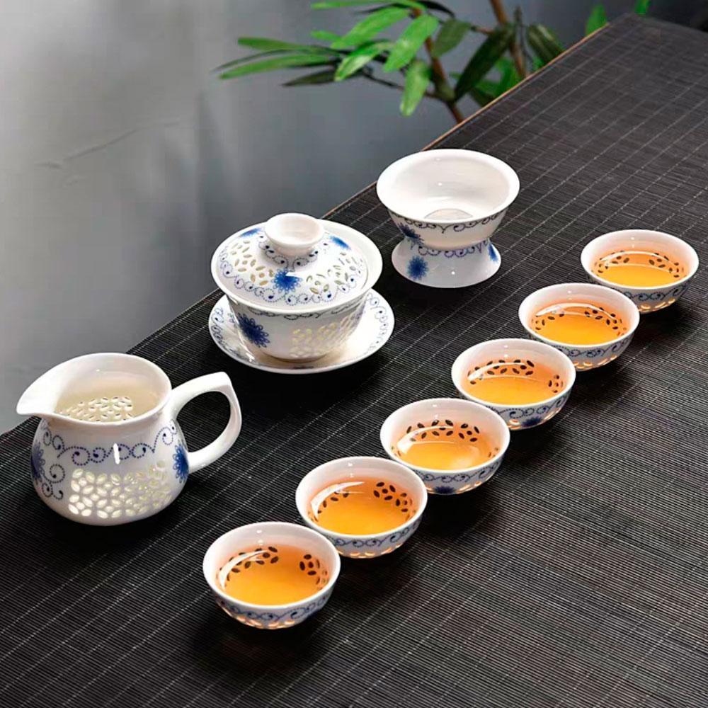"Сервиз для чайной церемонии, Гайвань ""Премиум"""