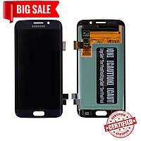 Модуль (сенсор + дисплей) для Samsung G925F Galaxy S6 Edge AMOLED темно-синий