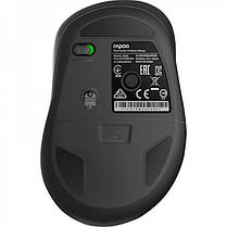 Мышь беспроводная Rapoo M500 Silent Wireless Multi-Mode Grey, фото 3