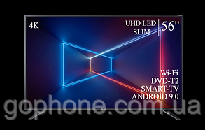 "Телевизор Sharp 56"" Smart-TV//DVB-T2/USB АДАПТИВНЫЙ UHD,4K/Android 9.0, фото 3"
