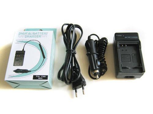 Сетевое + авто зарядное для Canon NB-5L NB5L, фото 2