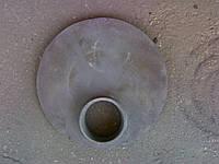 ✅ Крышка чугунная на буржуйку Ø 32 см
