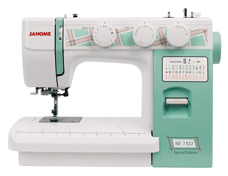 """Бытовая швейная машина """"Janome SE 7522 Special Edition"""""""