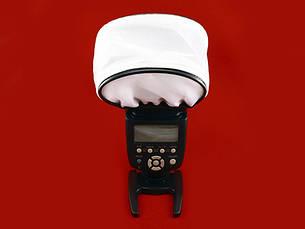 Универсальный тканевый рассеиватель, диффузор 100 x 75 x 65 мм, фото 2