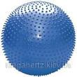 Мяч для фитнеса Фитбол Profit 65 см массажный с шипами фиолетовый, фото 4