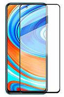 Захисне скло 9D Full Glue Triplex для Xiaomi Redmi Note 9 (Black)