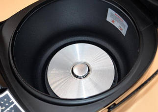 Мультиварка Domotec MS 7723 5 л, 11 режимов приготовления, золотая, фото 2