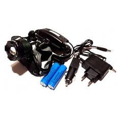 Налобный тактический фонарик POLICE BL-2189-T6 UF, фото 2