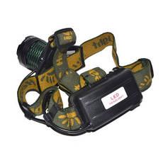Налобный тактический фонарик POLICE BL-2189-T6 UF, фото 3
