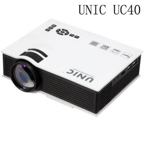Проектор портативный мультимедийный LCD UNIC JSQ-UC40, фото 2