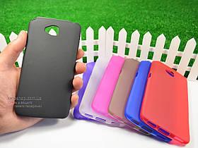 Силиконовый TPU чехол для LG G Pro Lite Dual D686