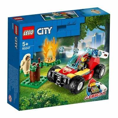 Конструктор LEGO City Лесные пожарные (60247)