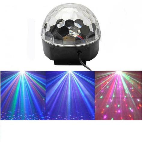 Светомузыка диско шар Magic Ball Music Super Light, фото 2
