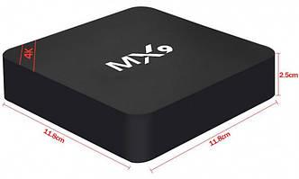 СМАРТ ПРИСТАВКИ ДЛЯ ТВ MX9 Smart Box TV Android Приставка смарт ТВ ( Копия ), фото 2