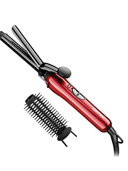 Утюжок для волос Gemei GM-2906, красный