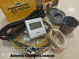 Тёплый пол комплект программируемый термостат + нагревательный кабель in-therm ADSV20 0,8 м.кв  (170 вт)