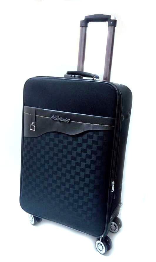 """Дорожный чемодан 20"""" Lin Sheng R16357 черный"""