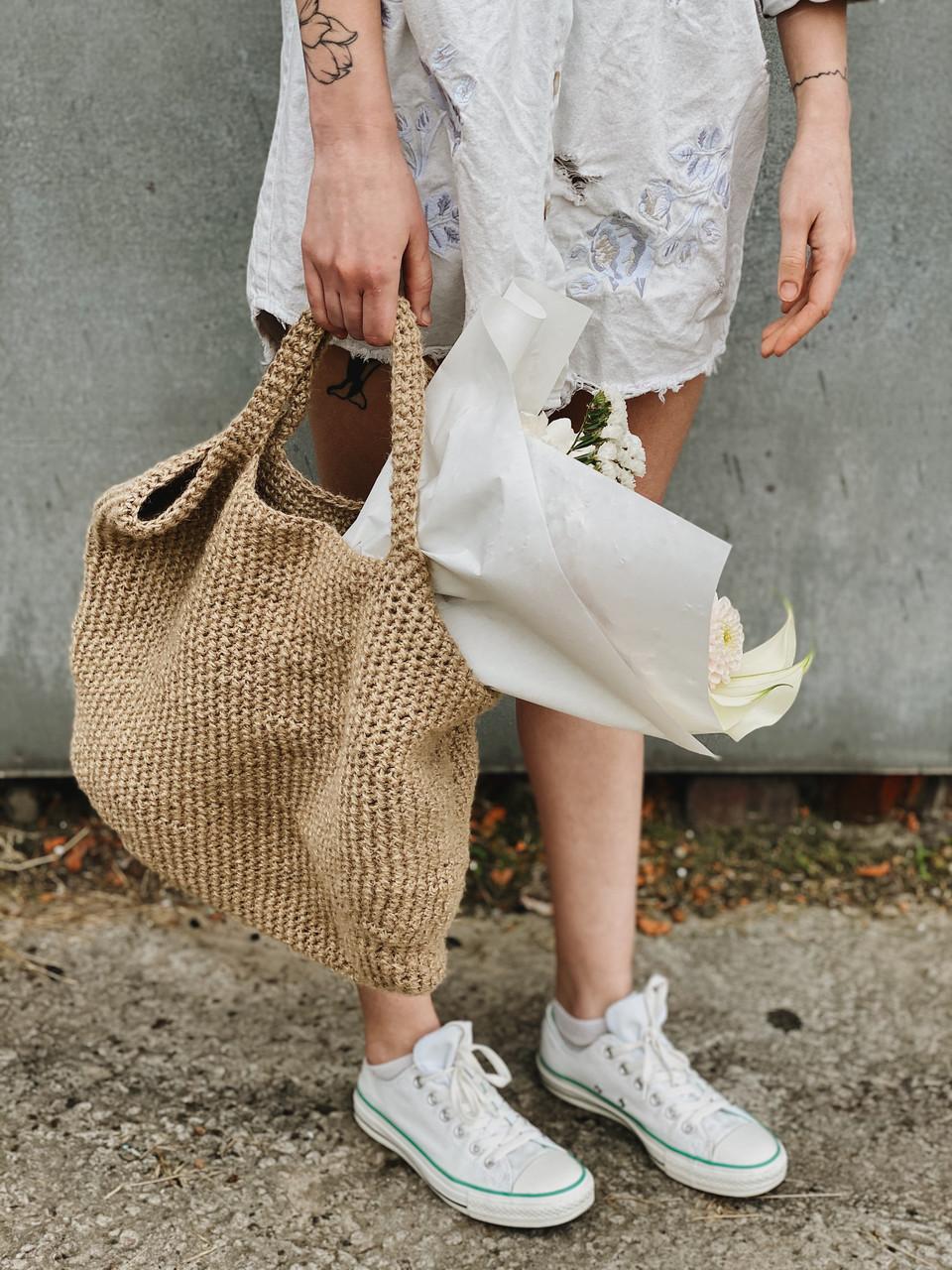 Вязаная сумка Rumba