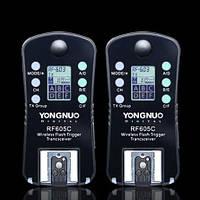 Радиосинхронизаторы Yongnuo RF-605 C1, C3, N1, N3 для Canon и Nikon, фото 1