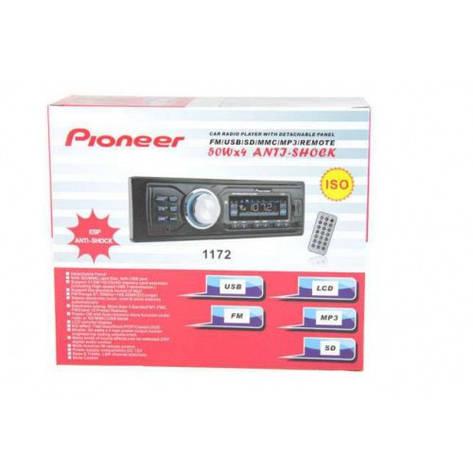 Автомагнитола Pioner 1172 USB/MP3/FM (75 068), фото 2