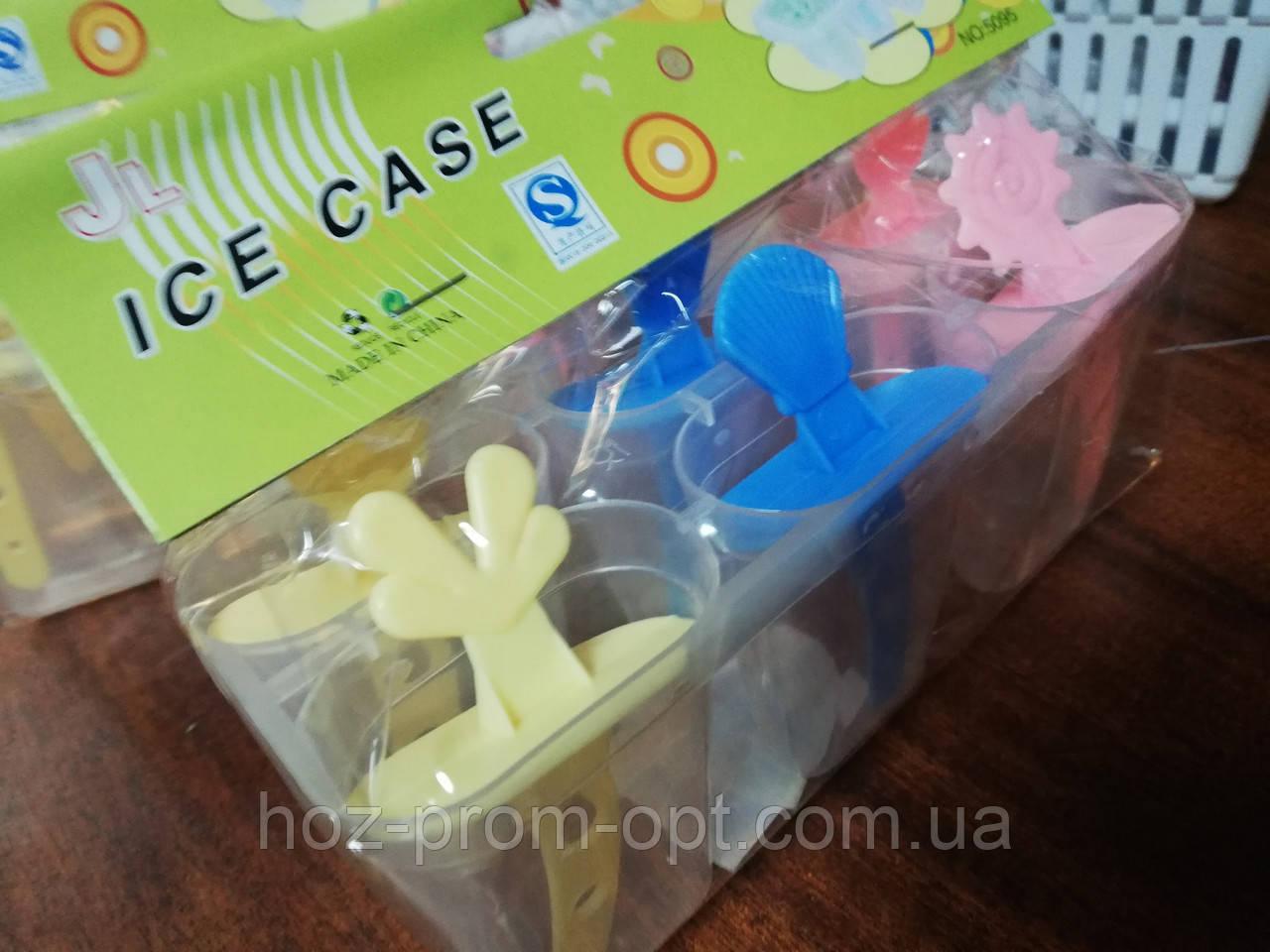 Набор форм для мороженного из 6шт\уп, пластик.