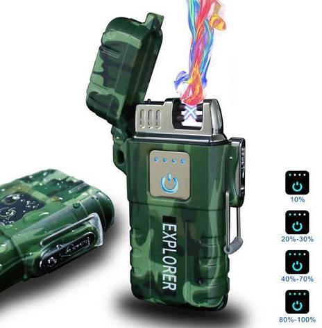 Зажигалка электроимпульсная JL317 Explorer 6741, фото 2