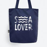 """Сумка Gifty """"Sea lover"""" из саржи"""