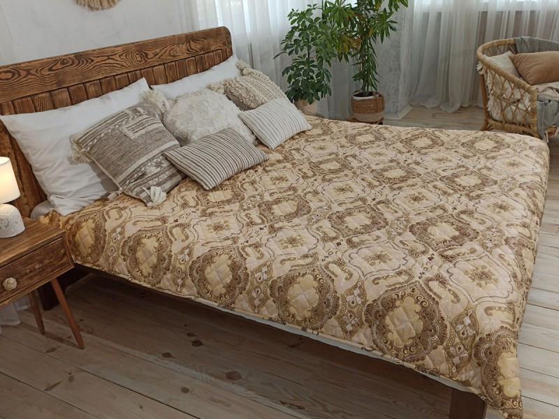 Покрывало на кровать, диван 200х220 Орнамент евро