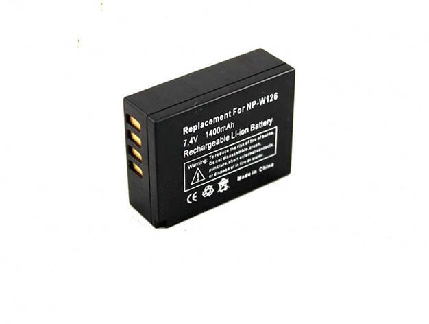 Батарея Fuji NP-W126 NPW126 X-Pro1 HS30 HS33 EXR, фото 2