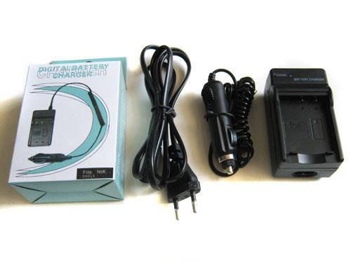Сетевое + авто зарядное для Nikon EN-EL8 ENEL8, фото 2