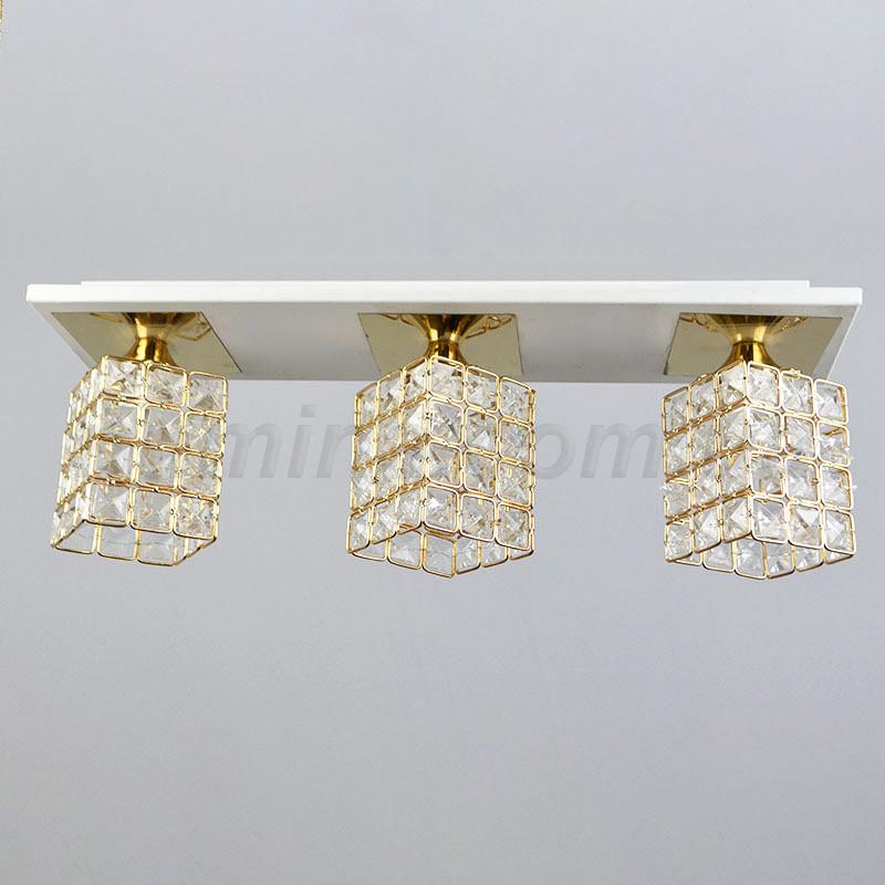 Люстра потолочная на 3 лампы стразы 3-N0772/3 FGD