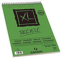 Альбом для рисунка Canson™ XL Recycled /160 g, A3, 50 листов на спирали/